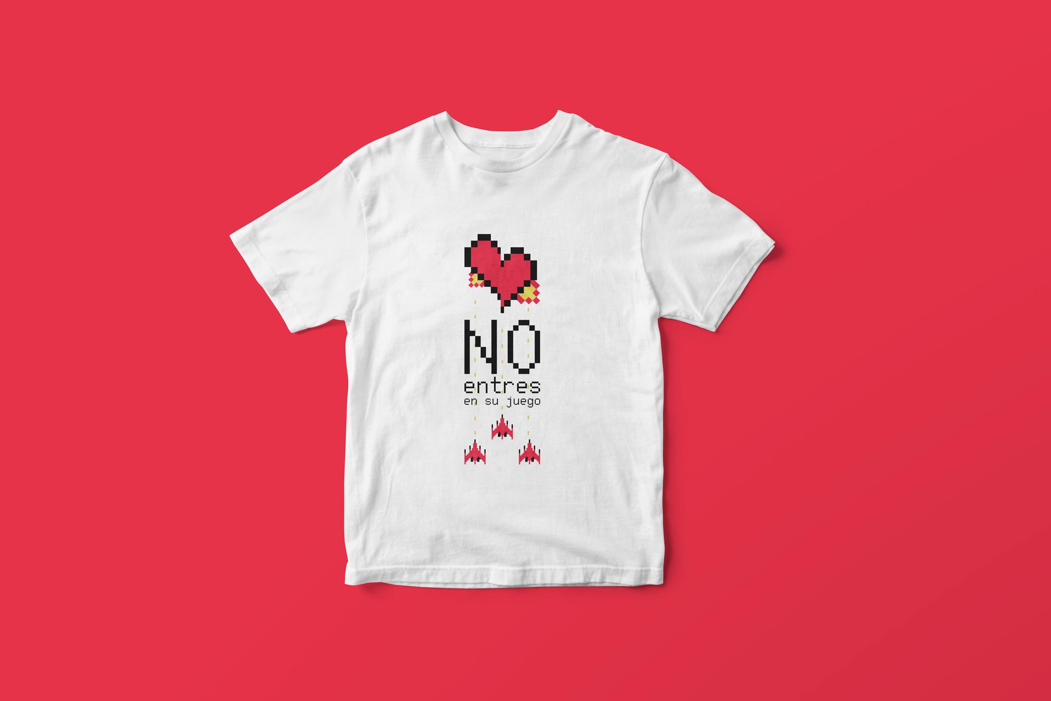 Jornadas nacionales de violencia de género camisetas