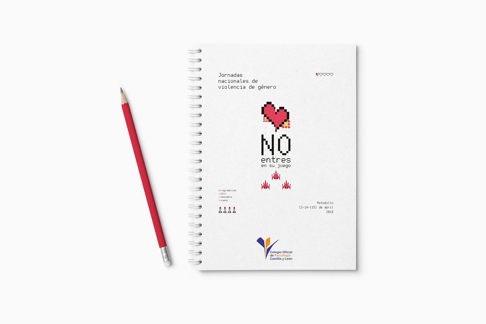Jornadas nacionales de violencia de género libreta